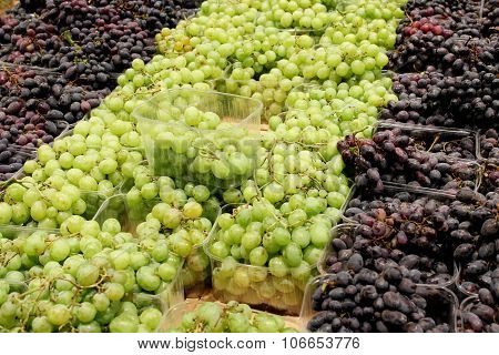 Grapes In The Supermarket