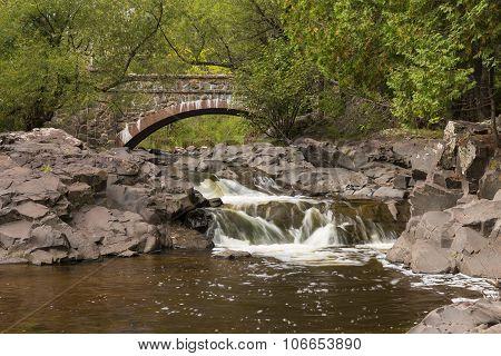 Amity Creek Falls & Bridge