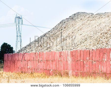 Deposit Terrain Wall