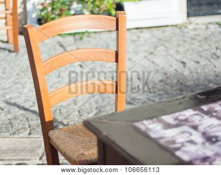 Empty Chair Waiting
