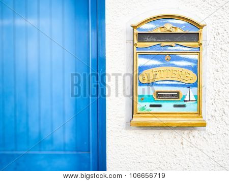 Letter Box Decored