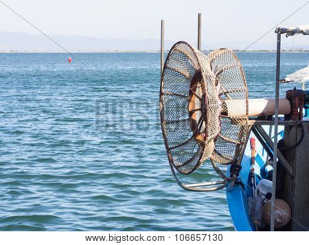 Winder Fishing Net