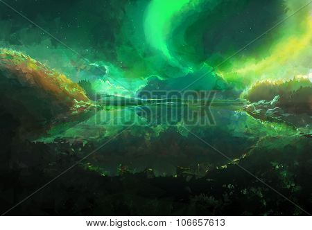 Northrend Aurora Borealis