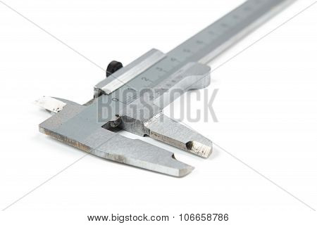 Isolated photo of caliper on white