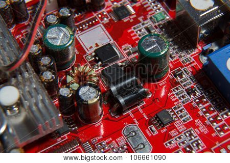 Red computer component