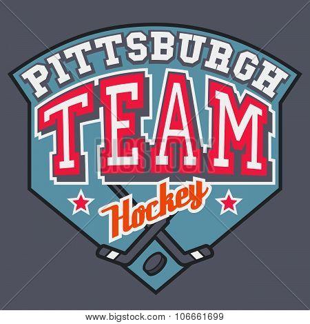 Pittsburgh Hockey Team