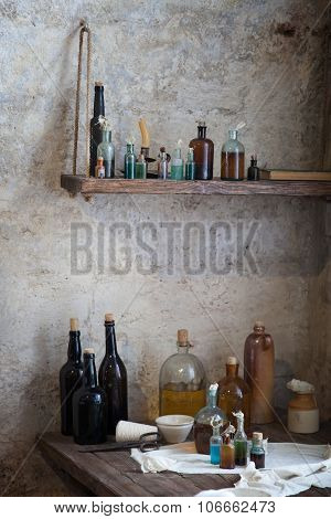 Old Pharmacist's Bottle