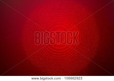 Red Laser Interference