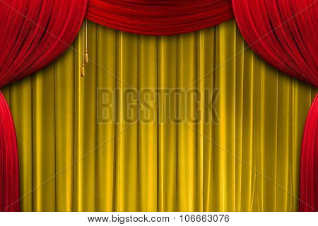 Curtain Theatre, Colour Curtains