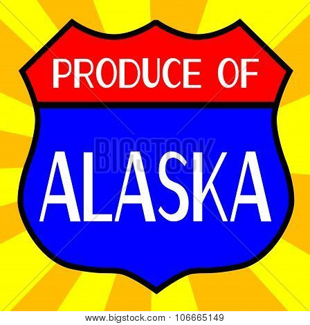 Produce Of Alaska Shield