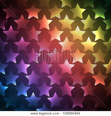 Abstract bright spectrum wallpaper. illustration