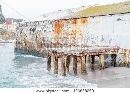 Old Building At The Harbor In Doornbaai