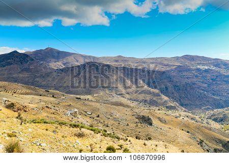 Kedros Mountains View