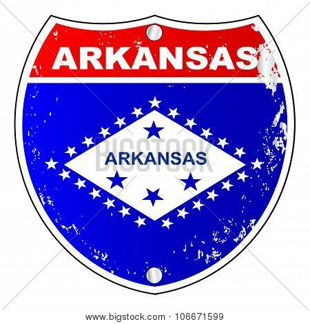 Arkansas Interstate Sign