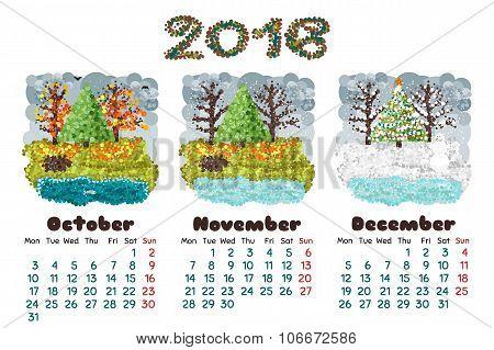 Calendar 2016-4 Nature