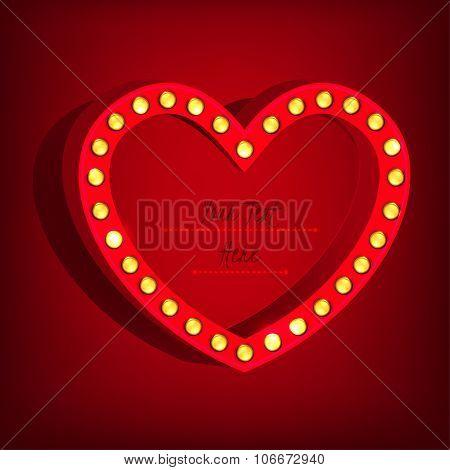 Lamp Heart Banner