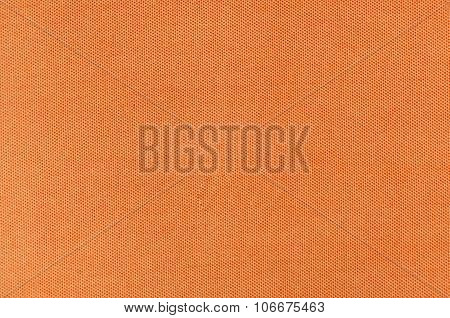 orange fabric textile texture for background