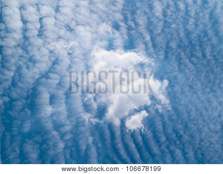 Surface Sky Filled With Clouds