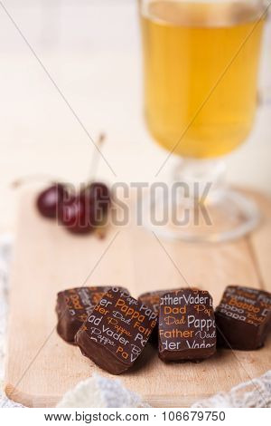 Still Life With Chocolate Candies