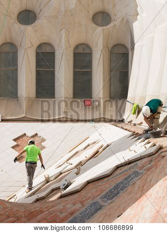 The Construction Of The Sagrada Familia Continues