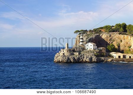 Lighthouse In Port Soller, Mallorca