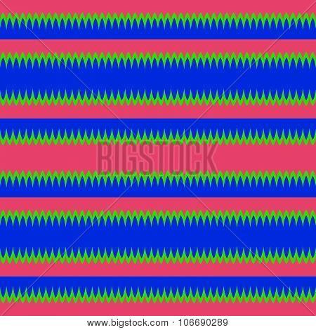 Seamless horizontalyl red blue green stripes