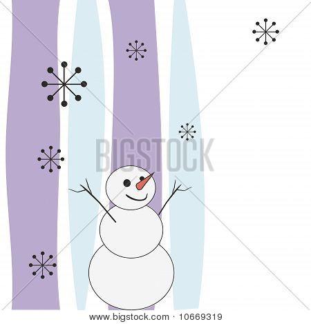 Joyful Snowman.
