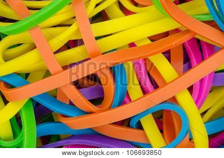 Colorful elastics