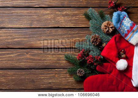 Pine Branch Santa Claus Clothes