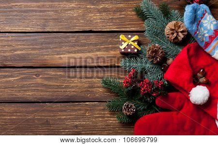 Gift Box And Christmas Things