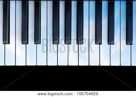 Sky Colored Piano