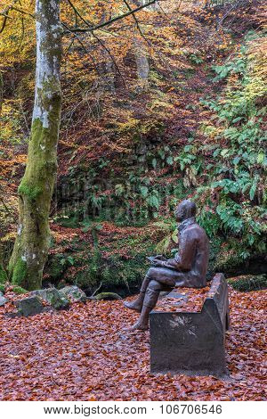 Robert Burns Statue Aberfeldy