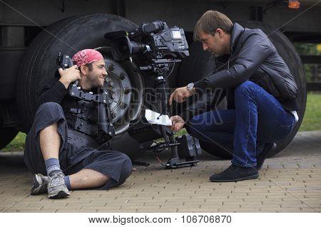 Cameraman And Director