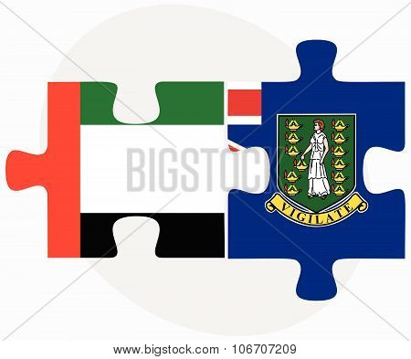 United Arab Emirates And Virgin Islands (british)