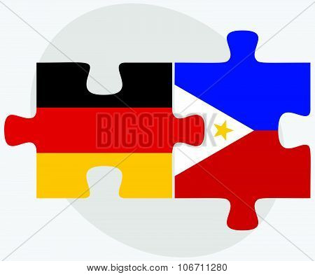 Germany And Philippines Flags