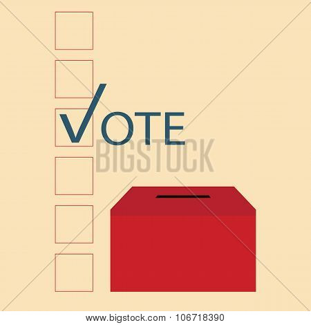 Vote Design With Ballot Boxes.