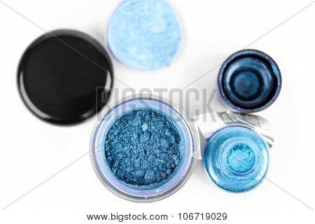 Blue Make-up Pigment Eyeshadows
