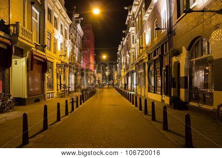 Golden streets of Amsterdam