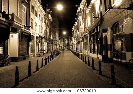 City streets, Amsterdam