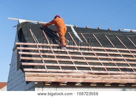 Nstallation Of A Roof