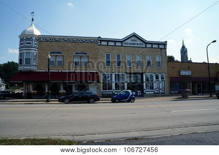 Mama Onesta's Italian Restaurant and the Adelmann Block