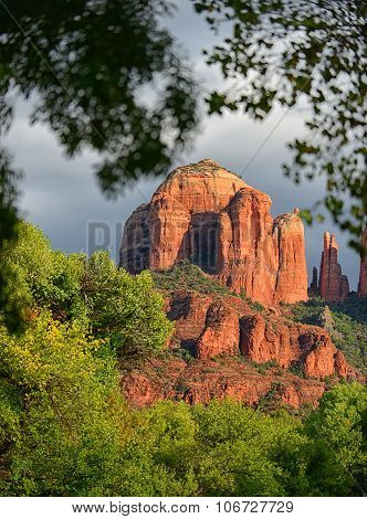 Cathedral Rock Energy Vortex In Sedona