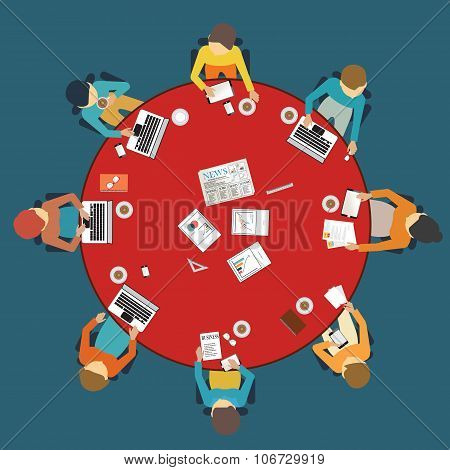 Business Meeting Dasign.