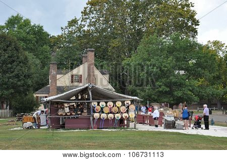 Market Square in Colonial Williamsburg, Virginia