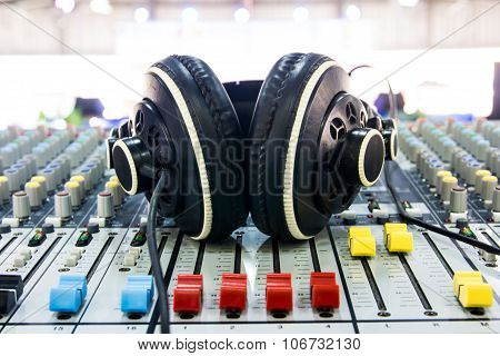 Sound Music Mixer Control