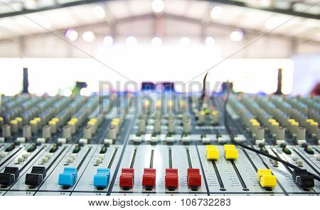 Sound Music Mixer Control