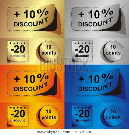Advertising Coupon Set.eps