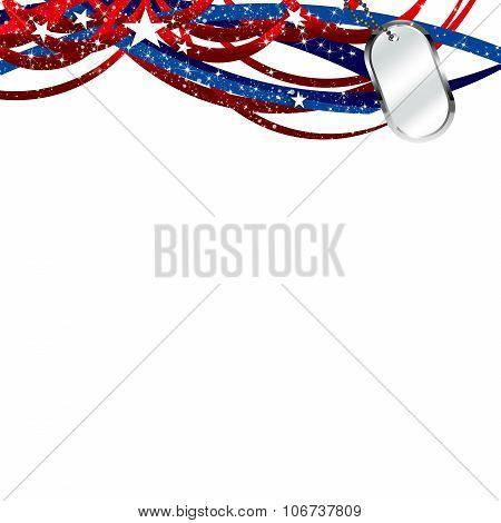 United States Patriotic Illustration