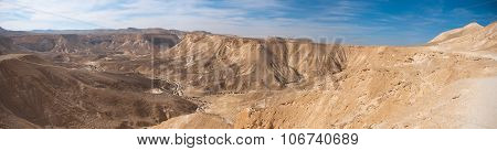 Negev Desert Panoramic View