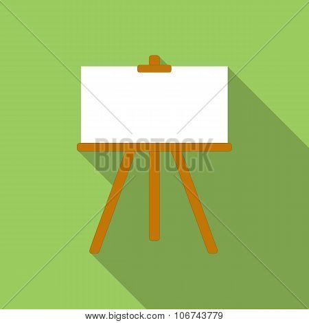 Canvas flat icon